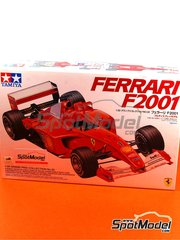 Tamiya: Model car kit 1/20 scale - Ferrari F2001 Marlboro #3, 4 - Michael Schumacher (DE), Rubens Barrichello (BR) - World Championship 2001 - plastic model kit