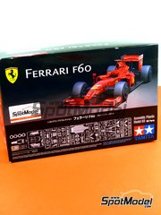 Tamiya: Model car kit 1/20 scale - Ferrari F60 Banco Santander #3, 4 - Kimi Räikkönen (FI), Felipe Massa (BR) - World Championship 2009 - plastic and photo-etched parts
