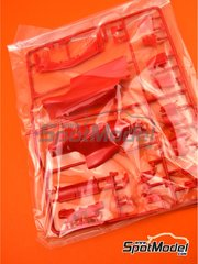 Tamiya: Spare part 1/20 scale - Ferrari SF70H: Sprue A - plastic parts - for Tamiya reference TAM20068