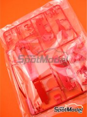 Tamiya: Spare part 1/20 scale - Ferrari SF70H: Sprue B - plastic parts - for Tamiya references TAM20068 and 20068