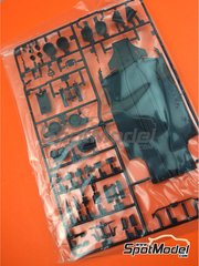 Tamiya: Spare part 1/20 scale - Ferrari SF70H: Sprue D - plastic parts - for Tamiya references TAM20068 and 20068