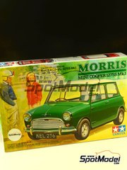 Tamiya: Model car kit 1/24 scale - Mini Morris Cooper 1275S Mk. 1 - plastic model kit image