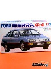 Tamiya: Model car kit 1/24 scale - Ford Sierra XR-4i 1984 - plastic model kit