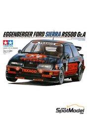 Tamiya: Model car kit 1/24 scale - Ford Sierra RS 500 1988