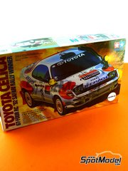 Tamiya: Model car kit 1/24 scale - Toyota Celica GT-Four RC Repsol #8 - Carlos Sainz (ES) + Luis Moya (ES) - Safari Rally 1992