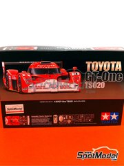 Tamiya: Model car kit 1/24 scale - Toyota TS020 GT-One Esso #3 - Allan McNish (GB) - 24 Hours Le Mans 1999 - plastic model kit