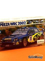 Tamiya: Model car kit 1/24 scale - Subaru Impreza WRC Pirelli Motul #10 - Tommi Mäkinen (FI) + Kaj Lindström (FI), Petter Solberg (NO) + Phil Mills (GB) - Tour de Corse 2002 - plastic model kit