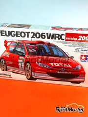 Tamiya: Model car kit 1/24 scale - Peugeot 206 WRC 2003