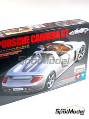 Tamiya: Model car kit 1/24 scale - Porsche Carrera GT - plastic model kit