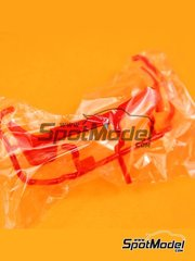 Tamiya: Spare part 1/24 scale - Ferrari Laferrari: Sprue part A24 - plastic parts - for Tamiya reference TAM24333