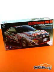 Tamiya: Model car kit 1/24 scale - Toyota Gazoo Racing TRD 86 TRD #104 - World Championship 2013 - plastic model kit image