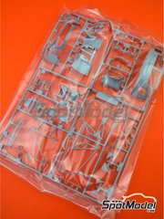 Tamiya: Spare part 1/24 scale - Mercedes Benz AMG GT3: Sprue A spare parts - plastic parts - for Tamiya references TAM24345 and 24345