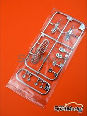 Tamiya: Spare part 1/24 scale - Mercedes Benz AMG GT3: Sprues E and G spare parts - plastic parts - for Tamiya references TAM24345 and 24345