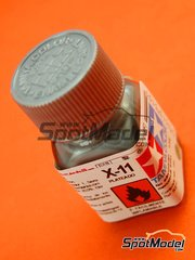 Tamiya: Enamel paint - X-11 - Silver - 10ml