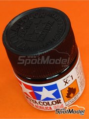 Tamiya: Acrylic paint - Black X-1 - 1 x 10ml