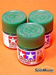 Tamiya: Pintura acrílica - Verde X-5 Green - 1 x 10ml