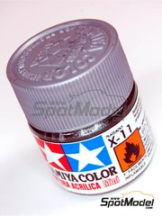 Tamiya: Acrylic paint - Chrome Silver X-11 - 1 x 10ml