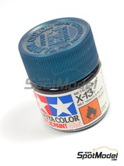 Tamiya: Acrylic paint - Metallic Blue X-13