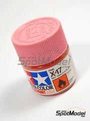 Tamiya: Acrylic paint - Pink X-17 - 1 x 10ml