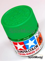 Tamiya: Acrylic paint - Park Green X-28 - 1 x 10ml