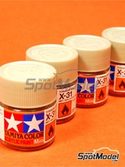 Tamiya: Acrylic paint - Titanium gold X-31 - 1 x 10ml
