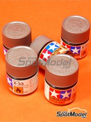 Tamiya: Acrylic paint - Bronze X-33 - 1 x 10ml