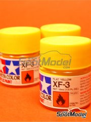 Tamiya: Acrylic paint - Flat yellow XF-3