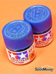 Tamiya: Acrylic paint - Flat blue XF-8 - 1 x 10ml