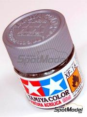 Tamiya: Acrylic paint - Flat Aluminium XF-16 - 1 x 10ml