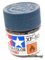 Tamiya: Acrylic paint - Field Blue XF-50