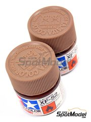 Tamiya: Acrylic paint - Flat earth XF-52 - 1 x 10ml