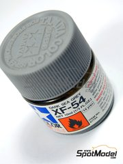Tamiya: Pintura acrílica - Color Gris mar oscuro XF-54 Dark sea grey