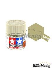 Tamiya: Acrylic paint - Deck Tan XF-55 - 1 x 10ml