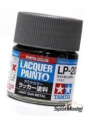 Tamiya: Pintura laca - Acero claro LP-20