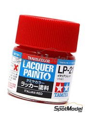 Tamiya: Lacquer paint - Italian red LP-21 - 1 x 10ml