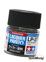 Tamiya: Lacquer paint - German grey LP-27 - 1 x 10ml