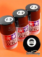 Tamiya: Spray - Negro Brillante TS-14 Gloss black
