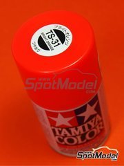 Tamiya: Spray - Naranja brillante - Color TS-31 Bright Orange - 100ml