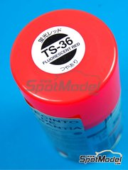 Tamiya: Spray - Fluorescent Red TS-36 - 100ml