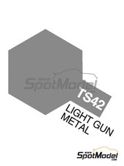 Tamiya: Spray - Light gun metal - TS-42