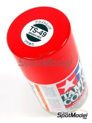 Tamiya: Spray - Rojo Brillante TS-49 Gloss Red - 100ml