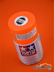 Tamiya: Spray - Naranja fluorescente - TS-96 Fluorescent Orange - 100ml - para la referencia de Tamiya TAM14130