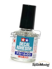 Tamiya: Producto para calcas - Liquido para fijar calcas Decal Adhesive Softener type - 10ml