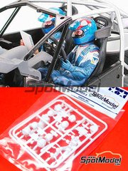 Tamiya: Figures set 1/24 scale - Rally driver and Co-driver