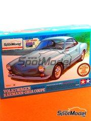 Tamiya: Model car kit 1/24 scale - Volkswagen Karmann-Ghia Coupe 1966 - plastic model kit
