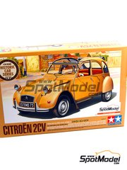 Tamiya: Model car kit 1/24 scale - Citroen 2CV - plastic model kit