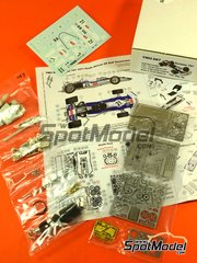 This Way Up: Model car kit 1/43 scale - Surtees Ford TS7 Auto Motor Sport #21 - Rolf Stommelen (DE) - South African Grand Prix 1971 - photo-etched parts, turned metal parts, water slide decals, white metal parts and assembly instructions