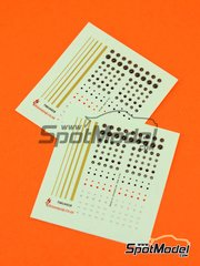 This Way Up: Decals 1/43 scale - Dials, lines and dots - 2 units image