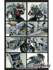 Top Studio: Detail up set 1/12 scale - Kawasaki Ninja ZX-RR 2006 - for Tamiya kit TAM14109