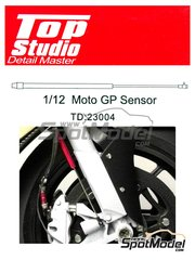Top Studio: Detalle escala 1/12 - MotoGP sensor